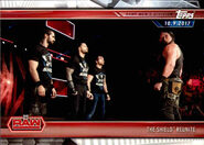 2019 WWE Road to WrestleMania Trading Cards (Topps) The Shield 4