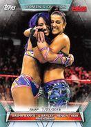 2019 WWE Women's Division (Topps) Sasha Banks 80