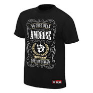 Dean Ambrose No Good Dean Goes Unhinged Authentic T-Shirt