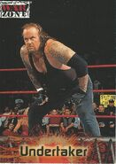 2001 WWF RAW Is War (Fleer) Undertaker 63