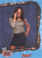 2002 WWE Absolute Divas (Fleer) Jazz 10
