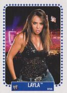 2008 WWE Heritage IV Trading Cards (Topps) Layla 63