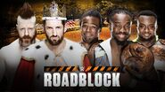 Roadblock 2016 WWE Tag Title Match