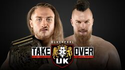 Takeover Blackpool Pete Dunne vs. Joe Coffey