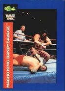 1991 WWF Classic Superstars Cards Randy Savage 148