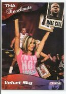 2009 TNA Knockouts (Tristar) Velvet Sky & Brother Devon 89