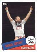 2015 WWE Heritage Wrestling Cards (Topps) Daniel Bryan 70