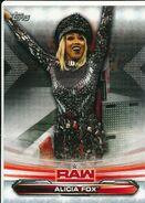 2019 WWE Raw Wrestling Cards (Topps) Alicia Fox 3