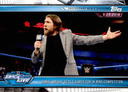 2019 WWE Road to WrestleMania Trading Cards (Topps) Daniel Bryan 91