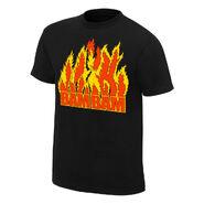 Bam Bam Bigelow Flames T-Shirt