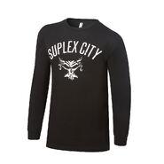 Brock Lesnar Suplex City Long Sleeve T-Shirt