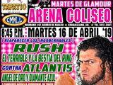 CMLL Guadalajara Martes (April 16, 2019)