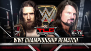 Daniel Bryan vs. AJ Styles TLC 2018