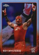 2015 Chrome WWE Wrestling Cards (Topps) Rey Mysterio 56