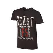 Brock Lesnar The Beast Incarnate T-Shirt