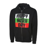 Rusev Happy Rusev Day Full Zip Hoodie Sweatshirt