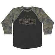 WrestleMania 35 Camo Raglan T-Shirt