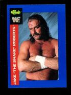 1991 WWF Classic Superstars Cards Jake Roberts 4