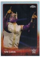 2015 Chrome WWE Wrestling Cards (Topps) Sin Cara 65