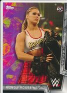 2018 WWE Women's Division (Topps) Ronda Rousey 25
