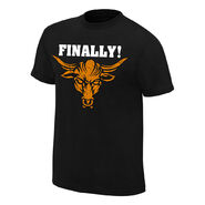 The Rock Finally! WrestleMania 32 T-Shirt