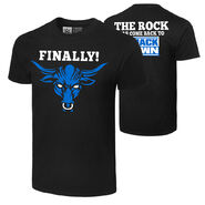 The Rock Smackdown Authentic T-Shirt