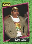 1991 WCW (Impel) Teddy Long 151