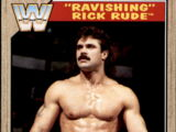 2017 WWE Heritage Wrestling Cards (Topps) Rick Rude (No.87)