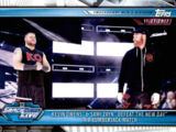 2019 WWE Road to WrestleMania Trading Cards (Topps) Kevin Owens & Sami Zayn (No.71)
