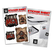 Finn Bálor Summon the Demon Sticker Sheet