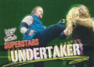 2001 WWF WrestleMania (Fleer) Undertaker 48