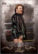2016 Topps WWE Undisputed Wrestling Cards Chris Jericho 9