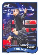 2018 WWE Heritage Wrestling Cards (Topps) The Miz 80