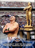 2018 WWE Road to Wrestlemania Trading Cards (Topps) Mojo Rawley 77