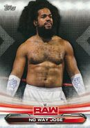 2019 WWE Raw Wrestling Cards (Topps) No Way Jose 55