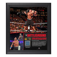 John Cena Battleground 15 x 17 Framed Ring Canvas Photo Collage