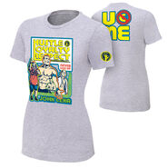 John Cena Throwback Gray Women's Authentic T-Shirt