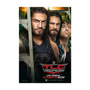 WWE Tables, Ladders, and Chairs 2017 Poster