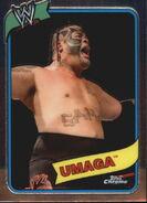 2008 WWE Heritage III Chrome Trading Cards Umaga 9