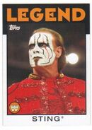 2016 WWE Heritage Wrestling Cards (Topps) Sting 36