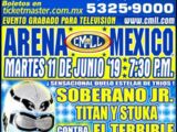CMLL Martes Arena Mexico (June 11, 2019)