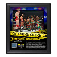 Sheamus & Cesaro RoadBlock 2016 15 x 17 Framed Plaque w Ring Canvas