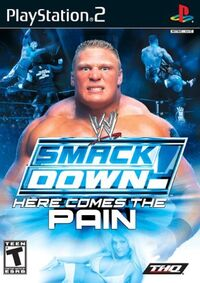 WWE SmackDown! Here Comes the Painのカバーアート