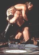 2003 WWE WrestleMania XIX (Fleer) Brock Lesnar 35