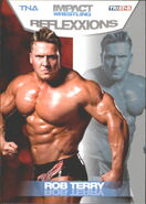 2012 TNA Impact Wrestling Reflexxions Trading Cards (Tristar) Rob Terry 26