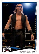 2014 WWE (Topps) Heath Slater 69