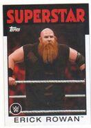 2016 WWE Heritage Wrestling Cards (Topps) Erick Rowan 14