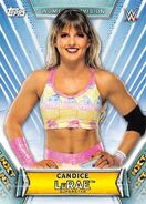 2019 WWE Women's Division (Topps) Candice LeRae 33