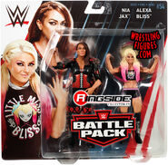 WWE Battle Packs 54 Alexa Bliss & Nia Jax