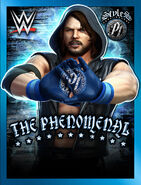 WWE Champions Poster - 001 AJStylesModern